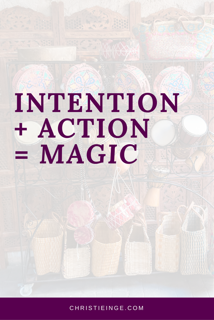 intention setting | intentional living | setting goals quotes