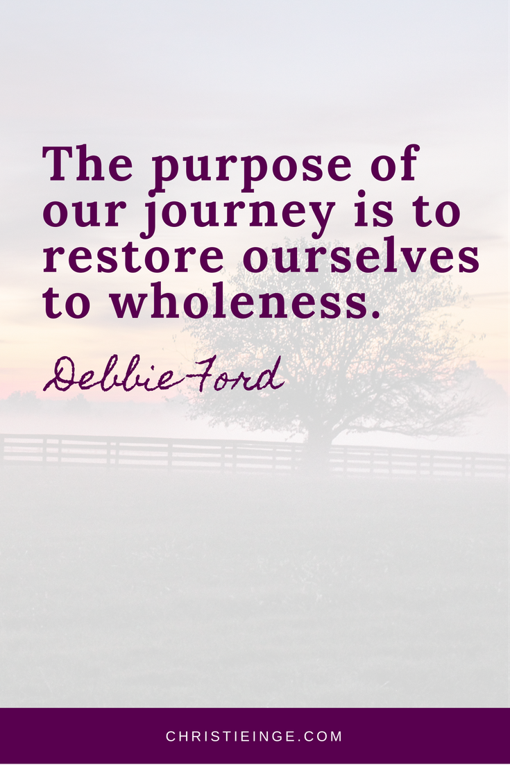 Debbie Ford Quote   Self Acceptance   Self Love   Wholeness