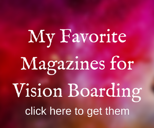 Magazines for Vision Boarding