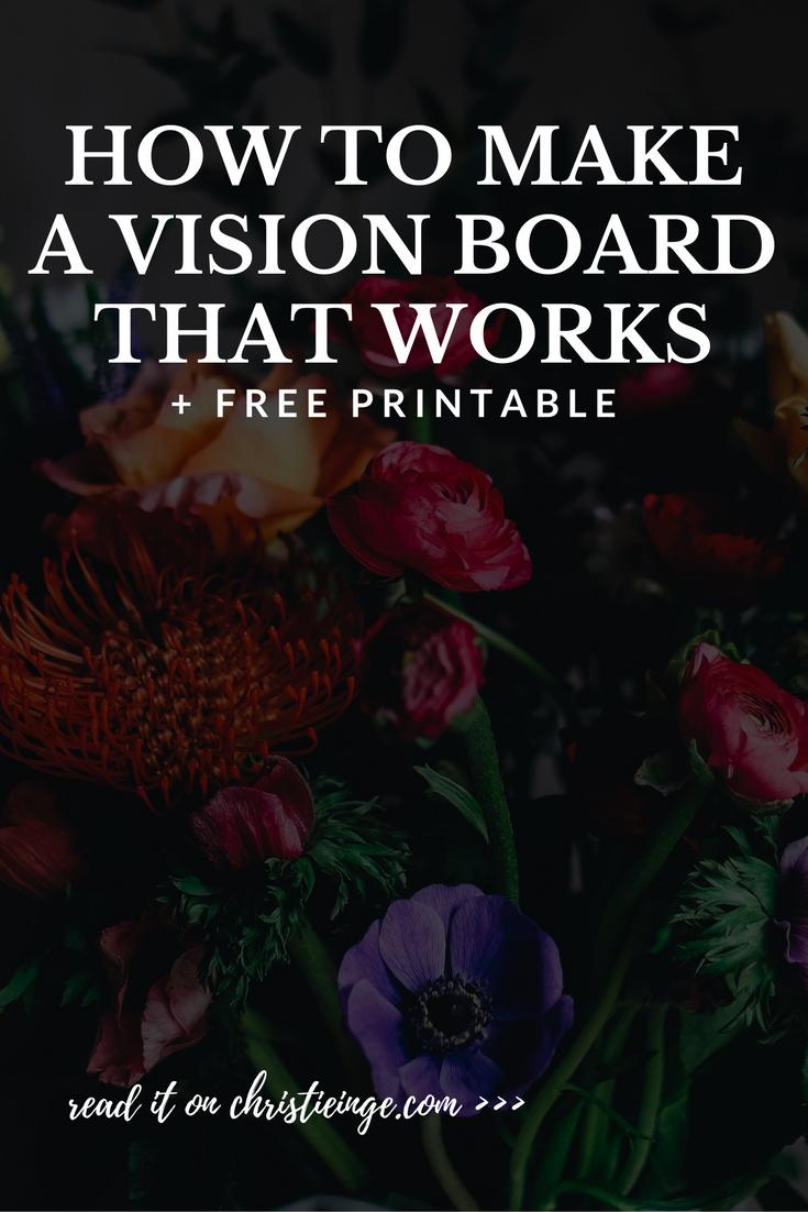 how to create a vision board | dream board | wish board | vision board ideas