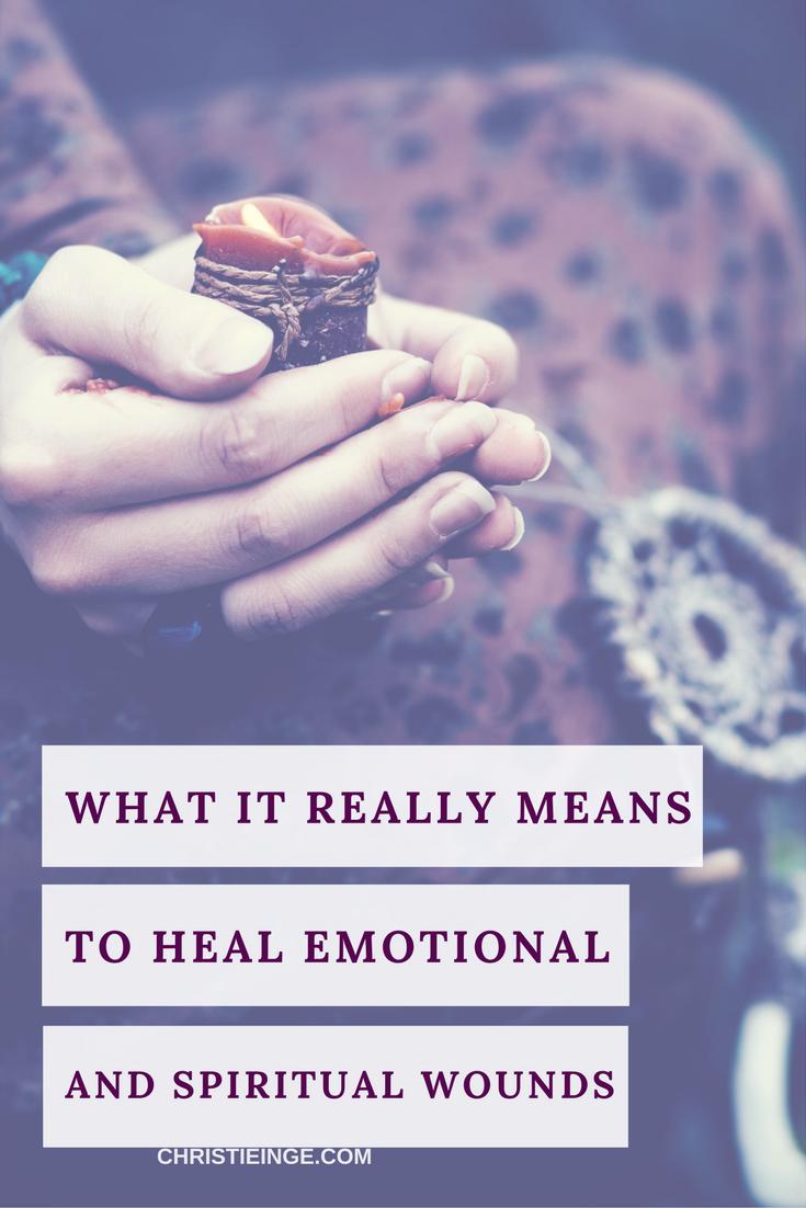 heal emotional and spiritual wounds | healing energy | healing self