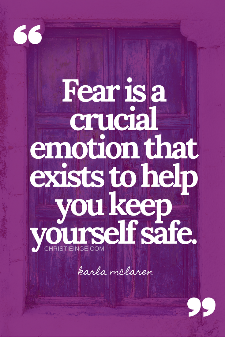 overcoming fear | courage to change | being brave | self doubt truths | safety