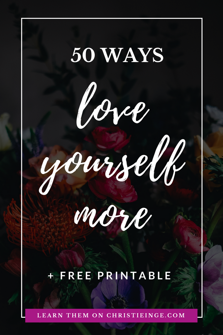 self love activities \ self acceptance inspiration \ love yourself first \ self care ideas \ accept your flaws