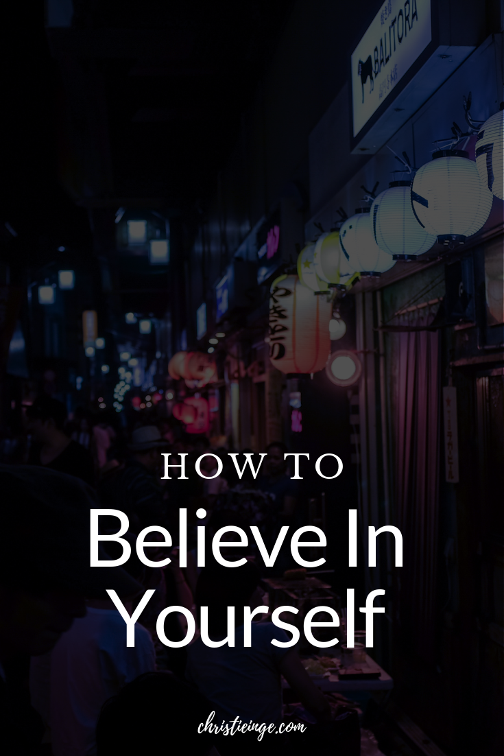 If you want to make epic things happen in your life, you've got to believe in yourself. When you believe in yourself, you are unstoppable. But you're probably wondering: How exactly do I believe in myself? In this post, I am going to give you the exact process for believing in yourself so that you can make your dreams comes true.